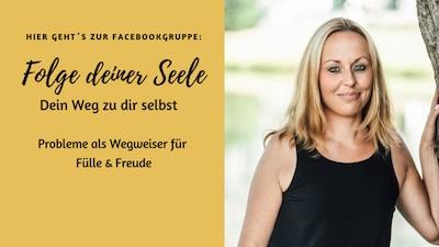Folge Deiner Seele - Verlinkung zur Facebook-Seite